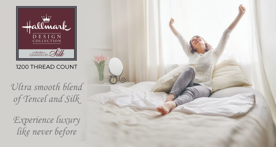 Hallmark Autumn Bed Linen Sale is here, get discounts on Bed Linen up to 50% OFF from now till end of October 2020!