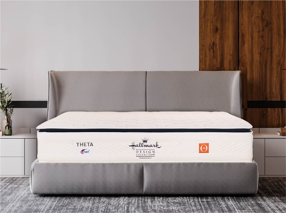 Hallmark Theta for your affordable Mid Firm Mattress