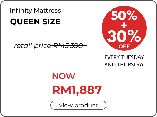 Get Infinity Mattress Now at Special Price